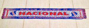 034-CLUB-NACIONAL-DE-FOOTBALL-034-BUFANDA-URUGUAY-SCARF-SCIARPA-SCHAL-ECHARPE-CACHECOL