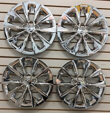New 2015 2016 Toyota Camry 16 Hubcap Wheelcover Set Of 4 Chrome Fits Toyota