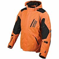 Speed And Strength Urge Overkill Motorcycle Jacket Orange