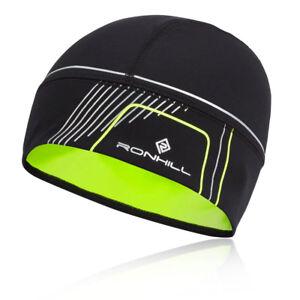 Ronhill-Unisexe-Noir-Run-Bonnet-Chaud-Ultraleger-Running-Sport-Outdoor