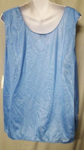 """Ventura  Periwinkle Blue Camisole Top Tank 26/"""" Long  Sz  3x  4x  5x  Lace"""