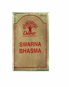 Dabur-Swarna-Suvarna-Gold-Bhasma-125mg-Indian-Herbal-Remedy-FREE-SHIPPING