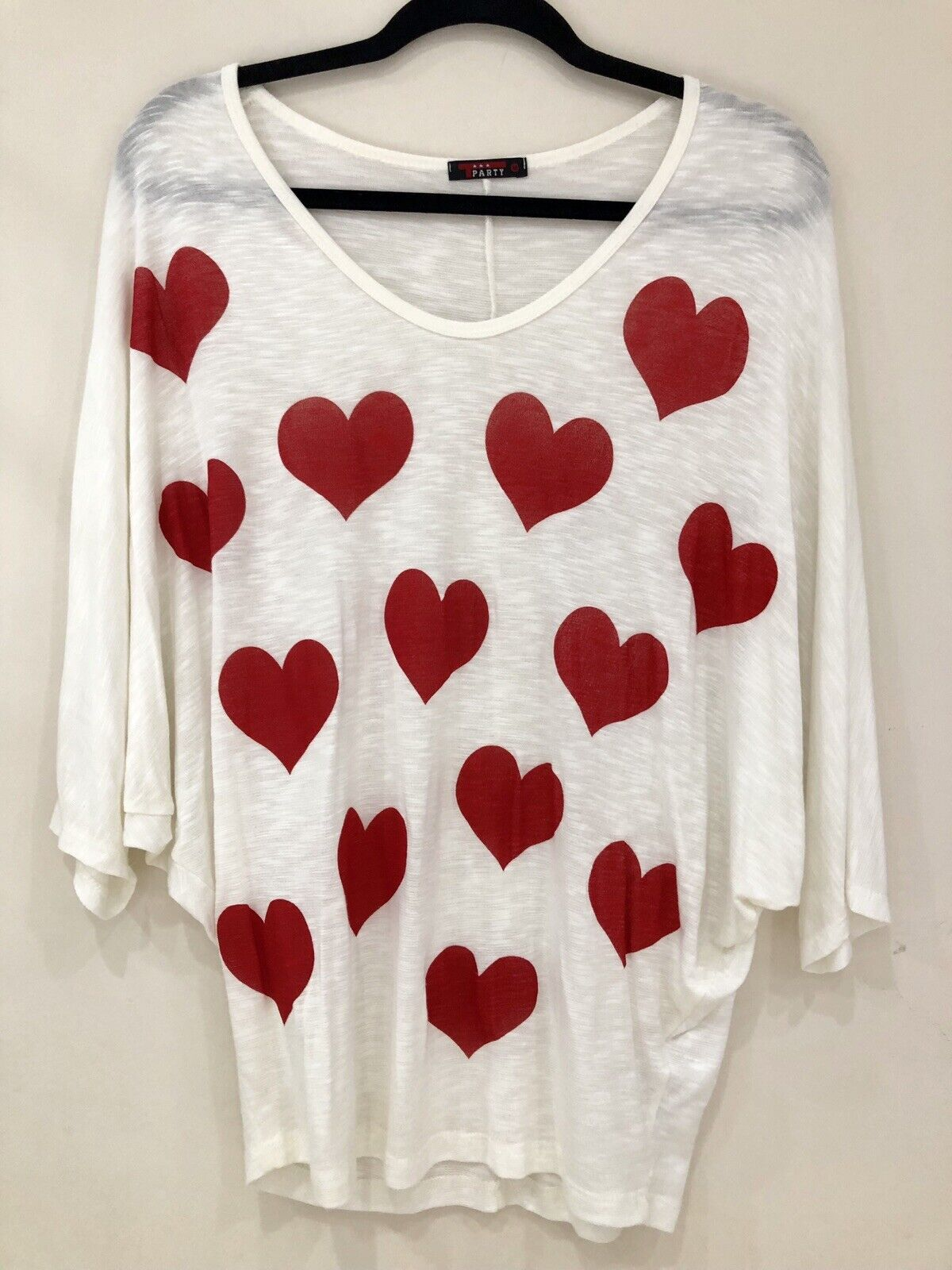 T Party Medium Heart Shirt