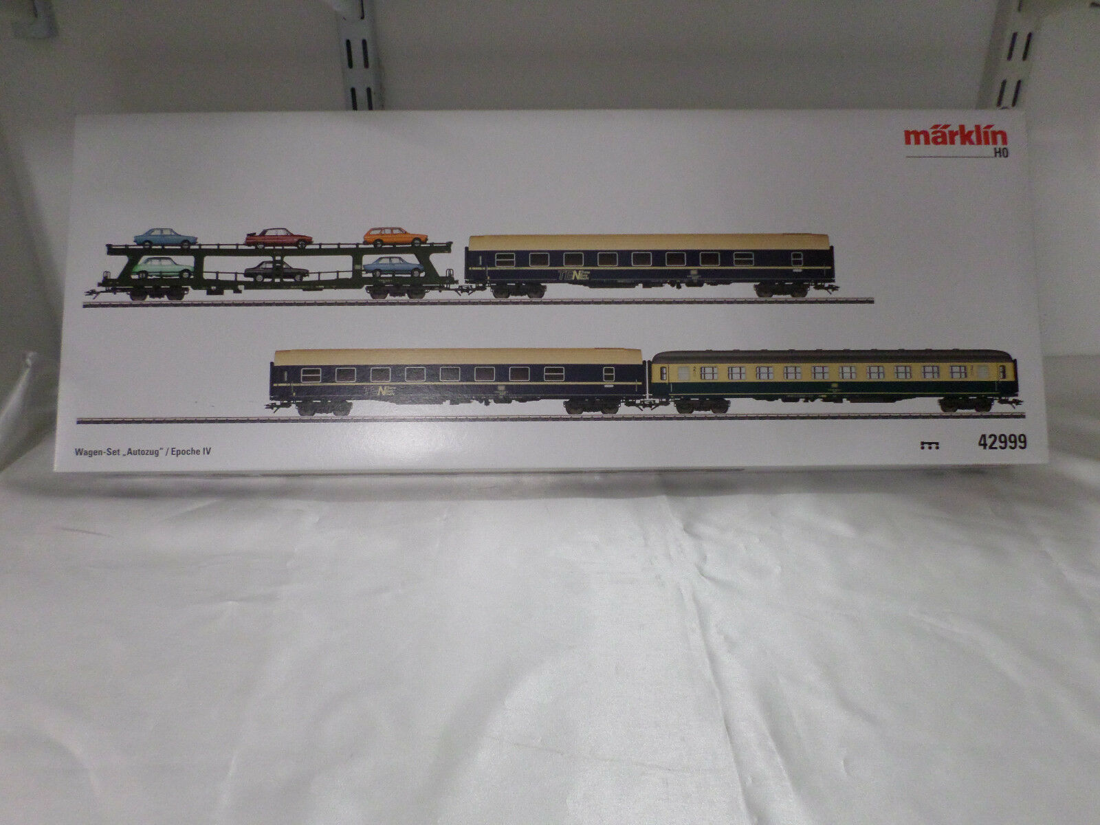 todos los bienes son especiales Marklin 42999 Ho    Auto Tren  Coche Set  venta caliente