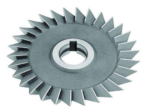 "Right Hand 4 x 3//4 x 1/"" x 60º HSS Single Angle Milling Cutter"