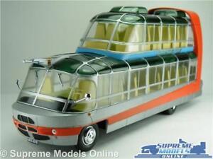CITROEN-U55-Cityrama-currus-Bus-modello-1-43-Taglia-IXO-Francia-anni-1950-Argento-Rosso-T34