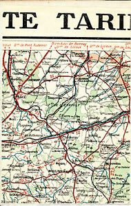 61-Gace-Merlerault-Ferte-Frenel-1924-carte-lin-partie-Courtomer-L-039-Aigle-Aube