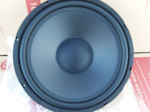 """NEW 15/""""  REPLACEMENT WOOFER OPEN BAFFLE SPEAKER HI-FI 8 OHM POLY RUBBER SUB"""