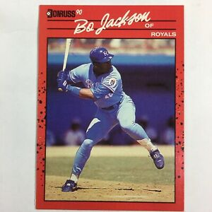 "Bo Jackson Card 1990 Donruss Error Card #61 No ""."" After ""INC"""