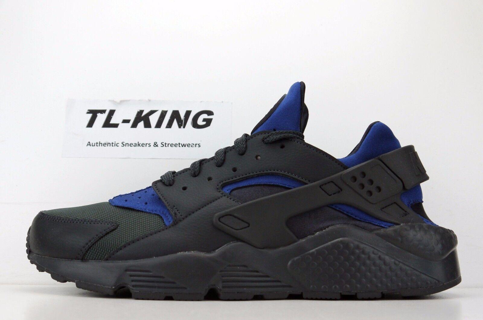 Nike Air huarache negro Run gimnasio azul negro huarache 318429-418 MSRP reducción de precios baratos y de moda hermosa 9fc9f9