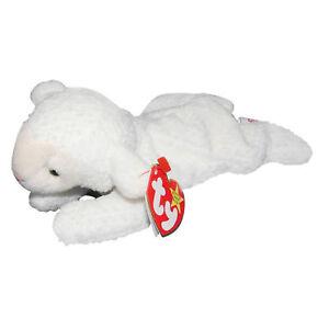161013cb698 Image is loading Ty-Beanie-Baby-Fleece-MWMT-Lamb-1995