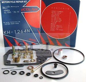 New Honda 1978-1979 GL1000 Carburetor Carb Repair Rebuild Kit