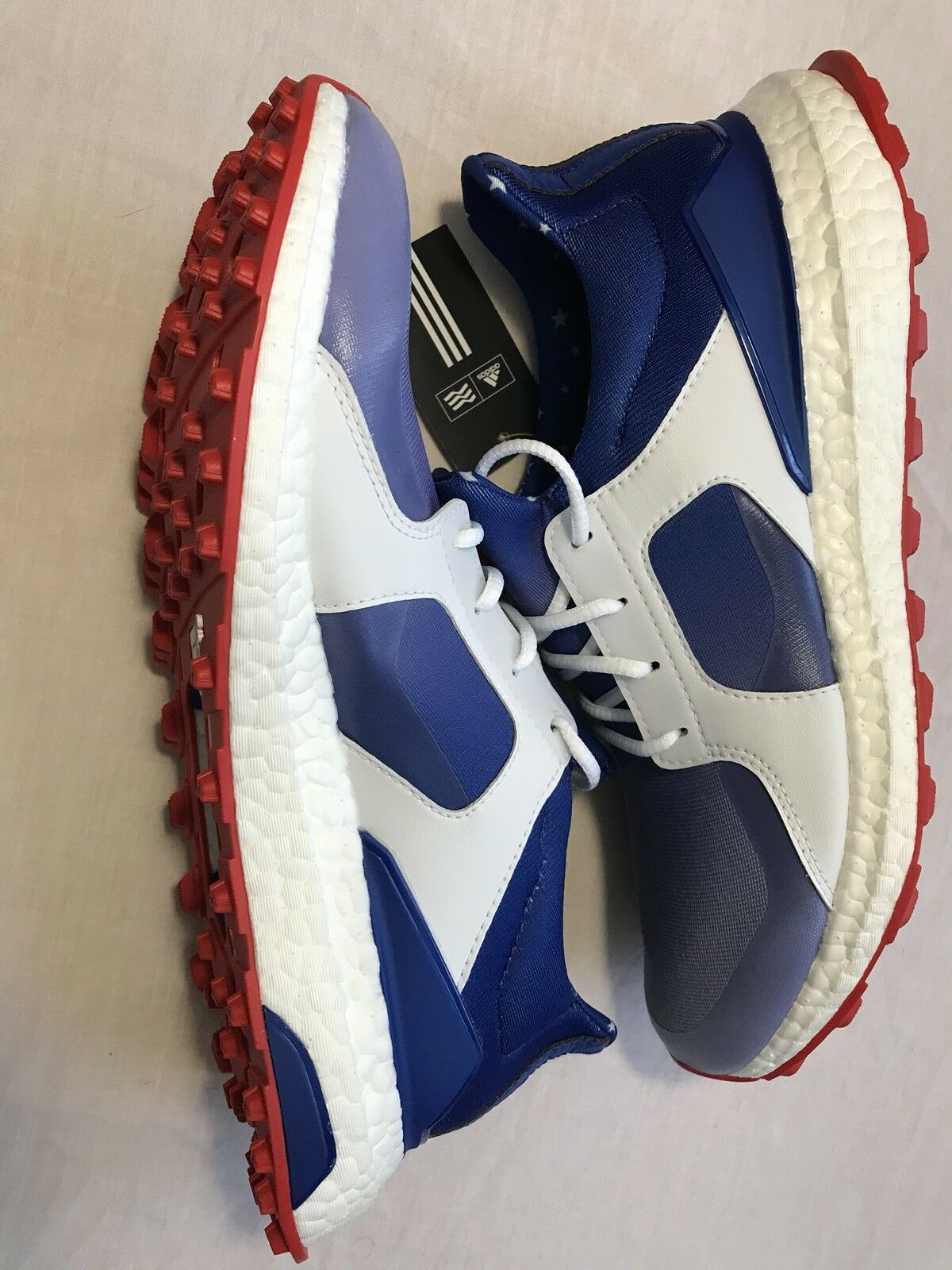 Adidas Women's Climacross Climacross Climacross Boost US Open Golf Shoes Red/White/Blue Q44986 Sz.9 4d1537