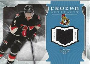wholesale dealer 8e583 fcecb Details about 2015-16 Artifacts Frozen Artifacts Jerseys Blue #FABR Bobby  Ryan Jersey