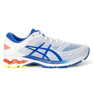ASICS Men's Gel-Kayano 26 White/Lake Drive Running Shoes 1011A541.100 NEW
