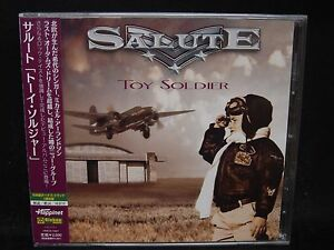 SALUTE Toy Soldier + 1 JAPAN CD Last Autumn's Dream Dogface Gypsy Rose AOR