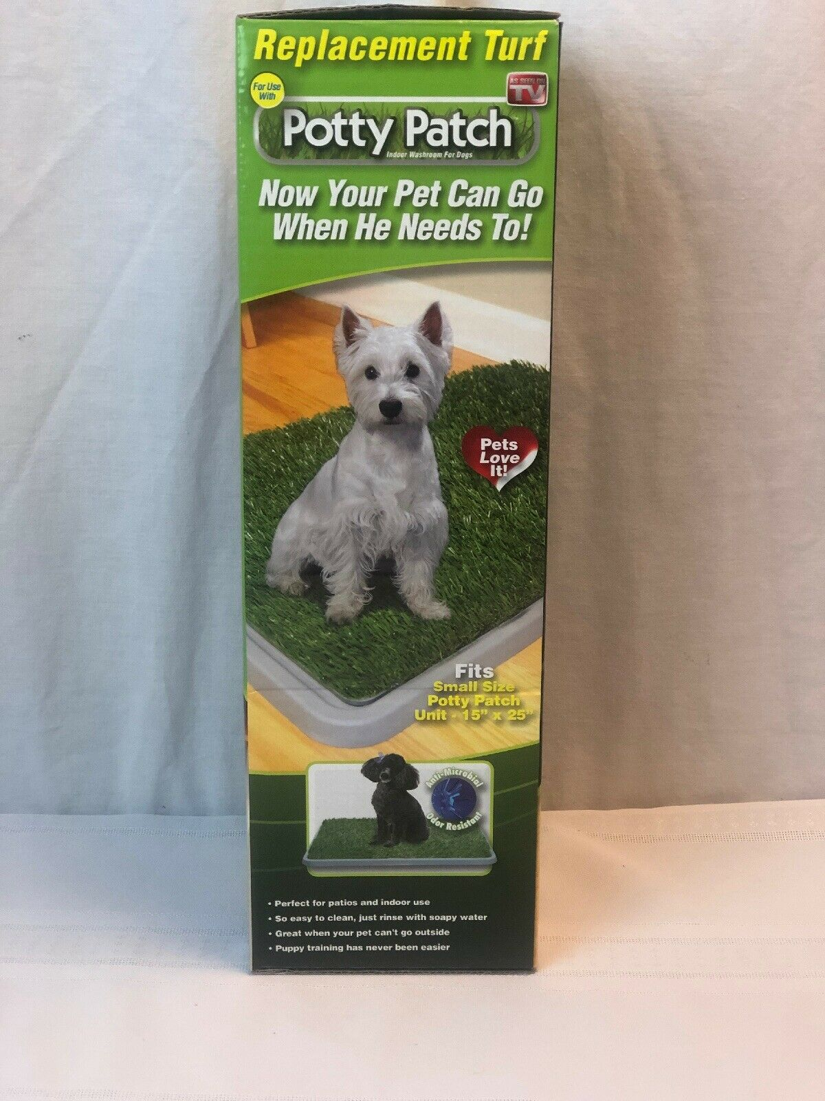 Potty Patch Small Replacement Turf Pets