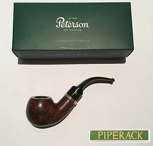 NEW-Peterson-Liscannor-XL02-Fishtail-Pipe-Smooth-Finish-BRAND-NEW