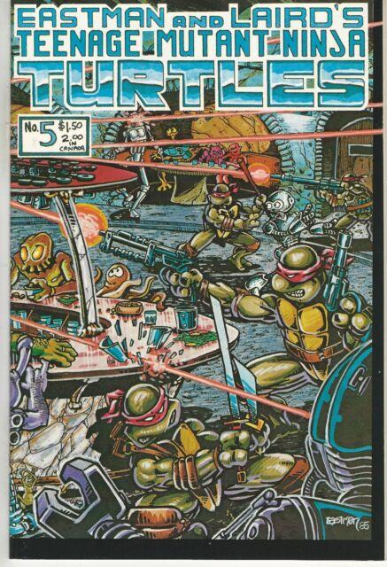 Teenage Mutant Ninja Turtles TMNT Vol 1(1984 Series) # 5 NM 1st Print