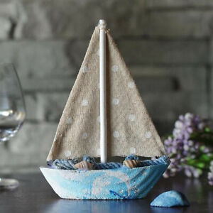 Wooden-Sailing-Boat-Ship-Ornament-f-Office-Cafe-Pub-Tabletop-Decoration