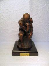"""Statuette en bronze le """" Penseur """" (reproduction)"""