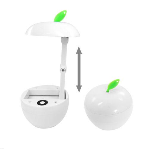 LED SMD Apfel Design TischlampeNachtischlampeBürolampeTischleuchte