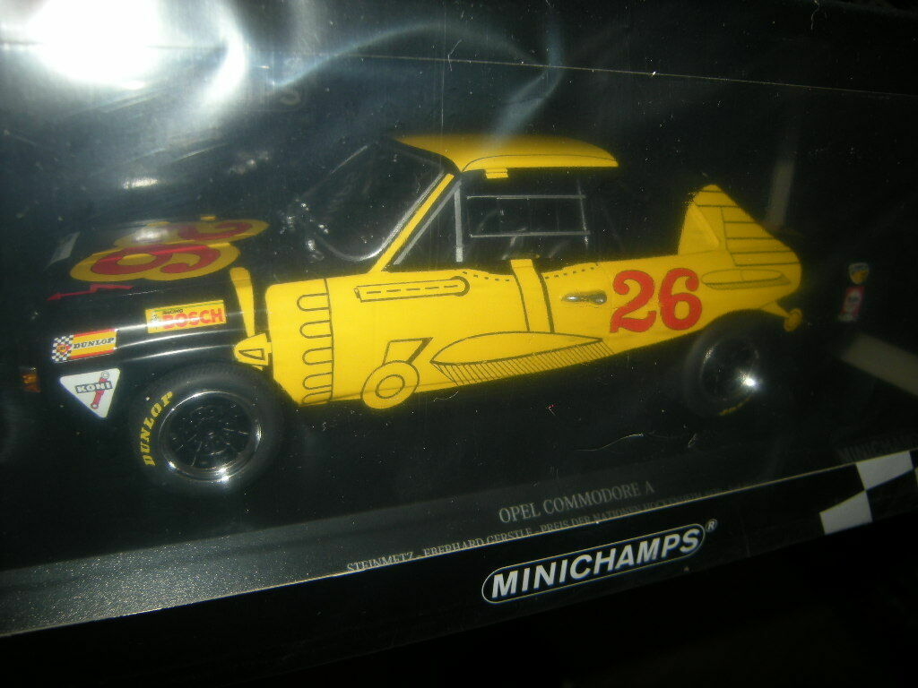 1 18 Minichamps Opel Commodore A Steinmetz Hockenheim 1970 Nr. 155704626 in OVP