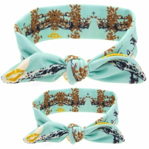 Mom Mother /& Daughter Baby Girl Headband Hair Band Accessories 2PCS Set