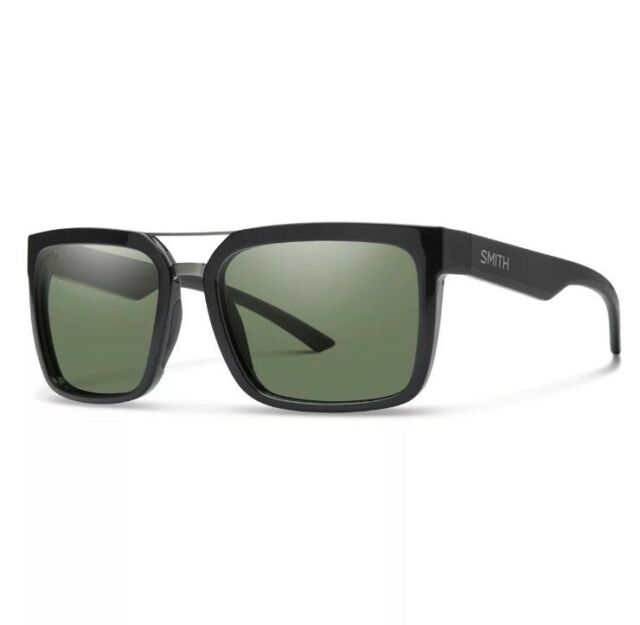 2aaa33fb21 Smith Sunglasses Men Highwire Shiny Black Chromopop for sale online ...