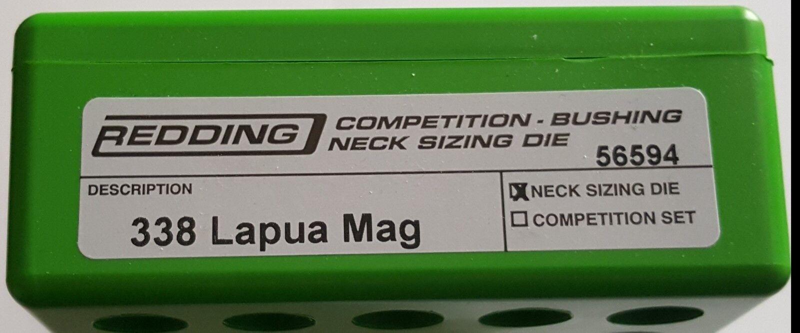 56594 Buje rojoding competencia Cuello Die - 338 Lapua Mag-Nuevo-Envío Gratis