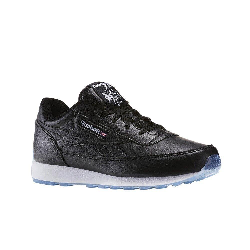 7452f44f00bc Reebok Men s CL Renaissance Gum Running Shoe White black 9 for sale online