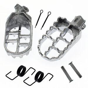 Foot Pegs For Yamaha TTR90 90E TW200 WR200 WR250 WR500 XT250 XT350 XT600 YZ250