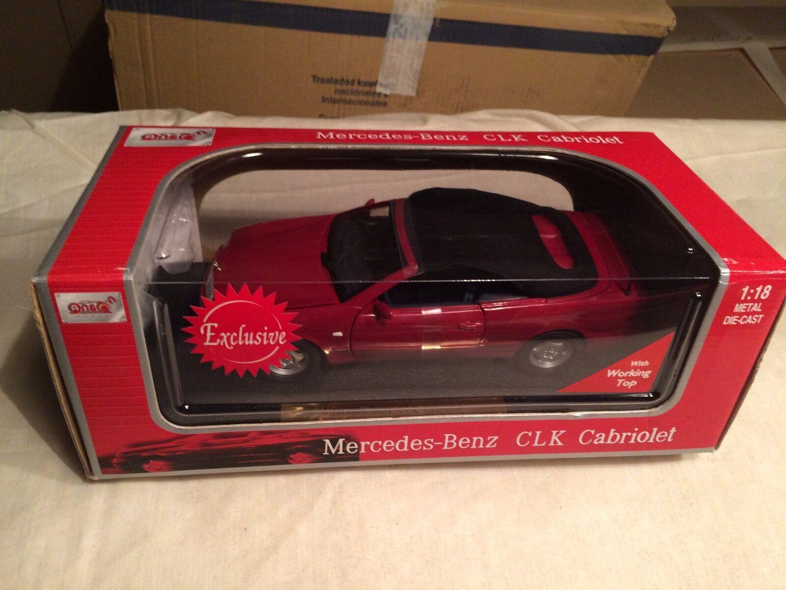 Mercedes Benz CLK 320 Cabrio Anson 30338 1 18 scale