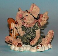 Boyds Bears celeste..the Angel Rabbit With Harp 2230 Very Retired 1993