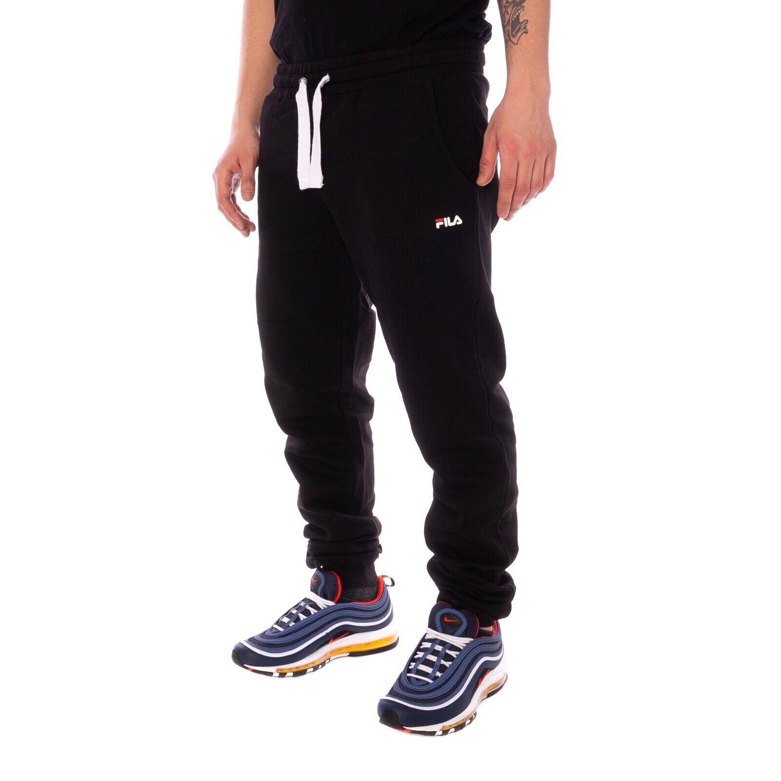 Fila Classic Slim Pants Hose Herren Jogginghosen schwarz 16086