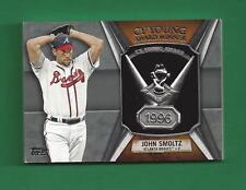 2013 Topps Cy Young Award Winner JOHN SMOLTZ Atlanta Braves