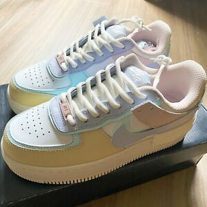 air force 1 shadow pastel mujer