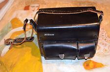 Vintage  Nikon Leather camera Bag