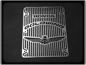 HONDA-GL1200-GOLDWING-INTERSTATE-Style-Polished-Radiator-Grill-GL-1200