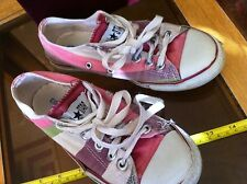 Converse All Star Pink White Green Size 5