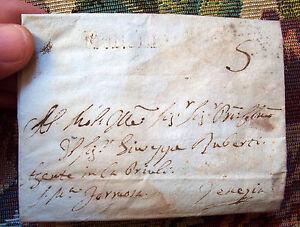 1807-PREFILATELICA-DA-ROTTA-SABADINA-PADOVA-A-VENEZIA-ANNULLO-039-MONSELICE-039