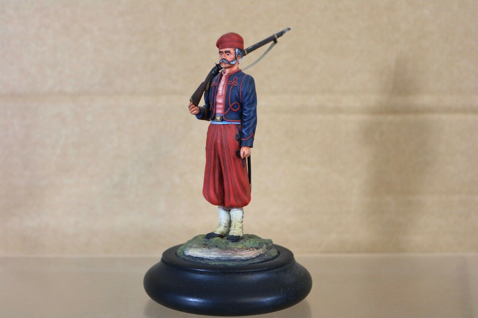 STADDEN SERIES 77 90mm AMERICAN CIVIL WAR UNION FRENCH ZOUAVE MUSEUM QUALITY 1nn