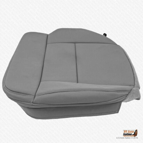 2006 2007 Ford F150 Lariat DRIVER Bottom Seat Cover Replacement CLOTH FLINT GRAY