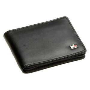 Tommy-Hilfiger-Men-039-s-Oxford-Zip-Around-Leather-Wallet