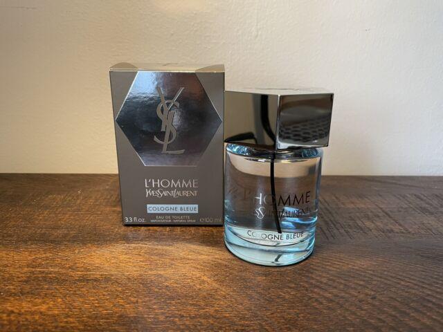 YSL L'HOMME COLOGNE BLEUE by Yves Saint Laurent Travel Size 3ml Spray Bottle