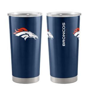 e235aa423f Denver Broncos 20oz Ultra Travel Tumbler  NEW  NFL Cup Mug Coffee ...