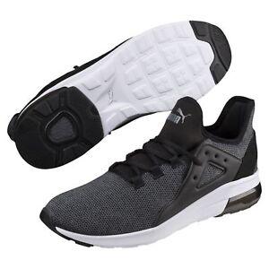 PUMA Electron Street Knit Sneakers Men Shoe Basics New