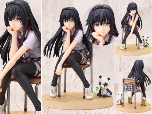 Anime Jouets My Teen Romantic Comedy Snafu Yukinoshita Yukino Figurine 13cm