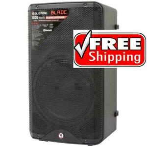 BLASTKING BLADE12A 1000 Watts 12 Bluetooth Active Loudspeaker with DSP Processor / Powered DJ Speaker Canada Preview