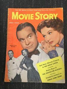Bob Hope - 1950 MOVIE STORY Magazine - Complete Issue